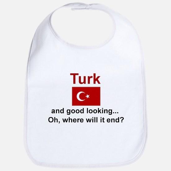 Good Looking Turk Bib