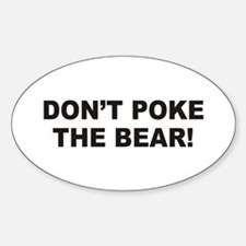 Bear Oval Sticker (10 pk)