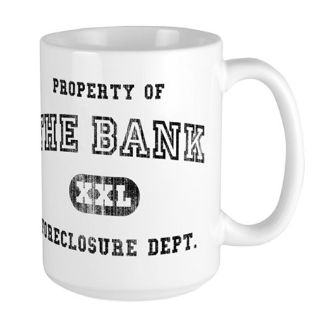 Foreclosure Large Mug