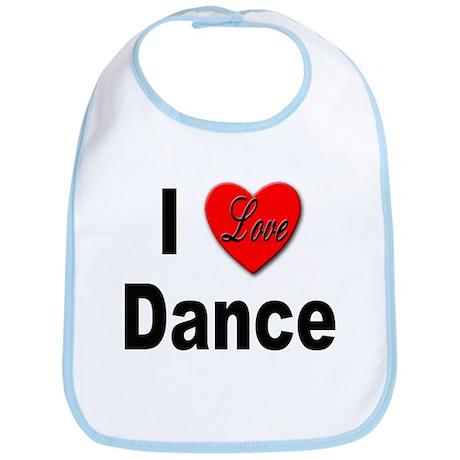 I Love Dance Bib