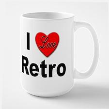 I Love Retro Mug