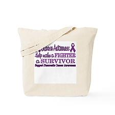 Fighter Survivor Pancreatic Tote Bag
