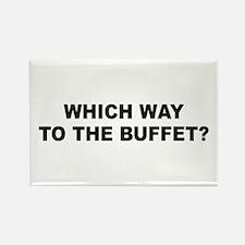 Buffet Rectangle Magnet