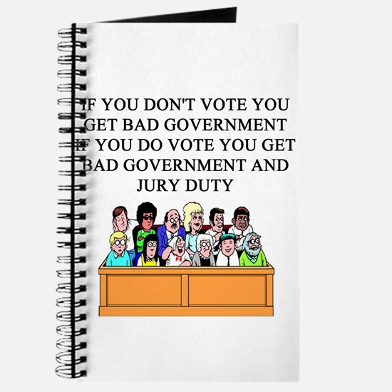 voter government jury duty Journal
