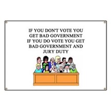 voter government jury duty Banner