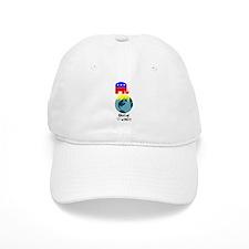 Global Warming Baseball Cap