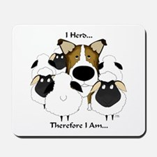 Smooth Collie - I Herd... Mousepad