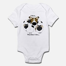 Smooth Collie - I Herd... Infant Bodysuit