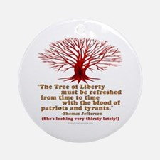 Jefferson's Tree of Liberty Ornament (Round)