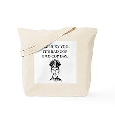 good cop police Tote Bag