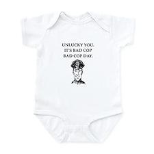 good cop police Infant Bodysuit