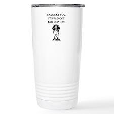 good cop police Stainless Steel Travel Mug