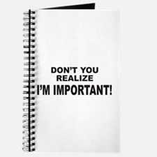 I'm Important Journal
