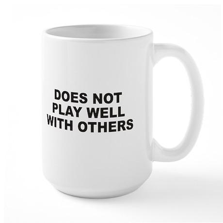 Play Well Large Mug