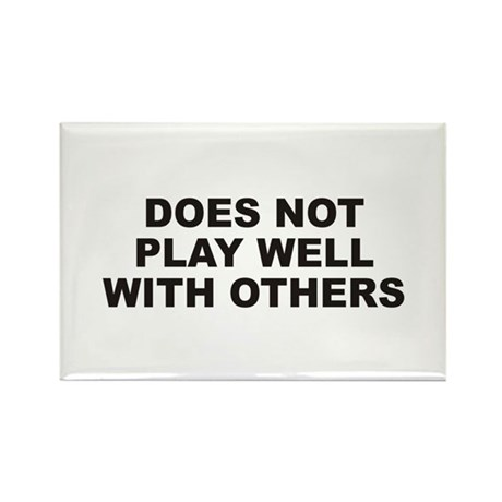 Play Well Rectangle Magnet (10 pack)