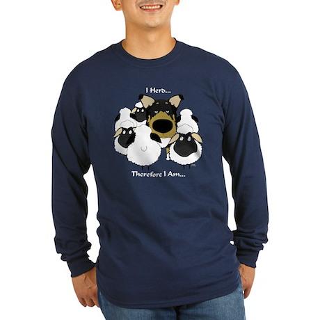 Smooth Collie - I Herd... Long Sleeve Dark T-Shirt