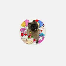 Cairn Terrier Party Mini Button