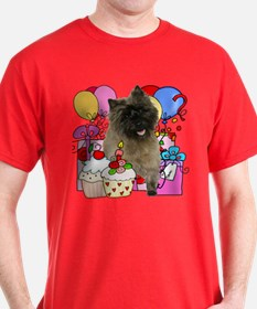 Cairn Terrier Party T-Shirt
