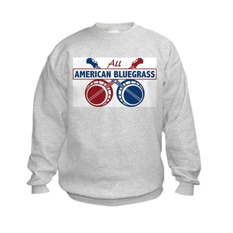 ALL AMERICAN BLUEGRASS Kids Sweatshirt
