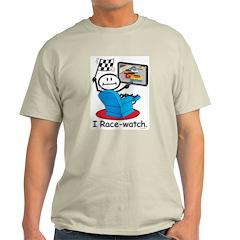 BusyBodies Car Racing Ash Grey T-Shirt