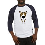 Big Nose/Butt Smooth Collie Baseball Jersey