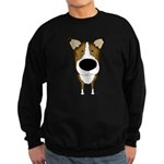 Big Nose Smooth Collie Sweatshirt (dark)