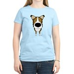 Big Nose/Butt Smooth Collie Women's Light T-Shirt