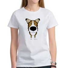 Big Nose/Butt Smooth Collie Tee