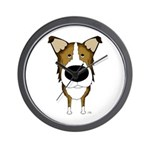 Big Nose Smooth Collie Wall Clock