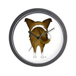 Big Butt Smooth Collie Wall Clock