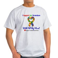 Autism ISupportMy Grandson T-Shirt