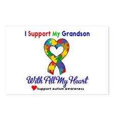 Autism ISupportMy Grandson Postcards (Package of 8