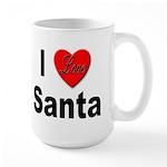 I Love Santa Large Mug