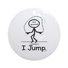 BusyBodies Jump Roping Ornament (Round)
