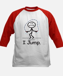 BusyBodies Jump Roping Kids Baseball Jersey