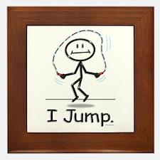 BusyBodies Jump Roping Framed Tile