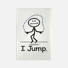 BusyBodies Jump Roping Rectangle Magnet