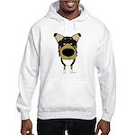 Big Nose/Butt Smooth Collie Hooded Sweatshirt