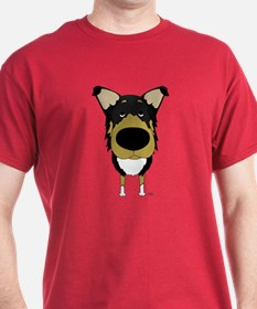 Big Nose Smooth Collie T-Shirt