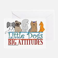 Big Attitudes Greeting Card