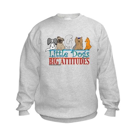 Big Attitudes Kids Sweatshirt