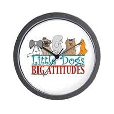 Big Attitudes Wall Clock