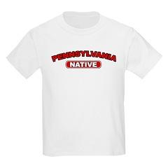 Pennsylvania Native Kids T-Shirt
