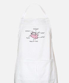 Chinese Birth Sign - Pig - BBQ Apron