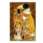 Kiss / Lhasa Apso #4 Postcards (Package of 8)