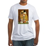Kiss / Lhasa Apso #4 Fitted T-Shirt
