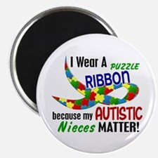 I Wear Puzzle Ribbon Nieces 33 Magnet