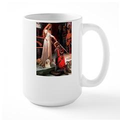 Accolade / Lhasa Apso #4 Large Mug