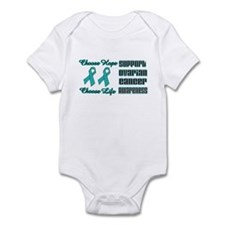 Choose Hope Ovarian Infant Bodysuit