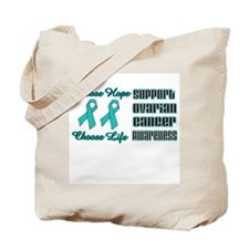 Choose Hope Ovarian Tote Bag
